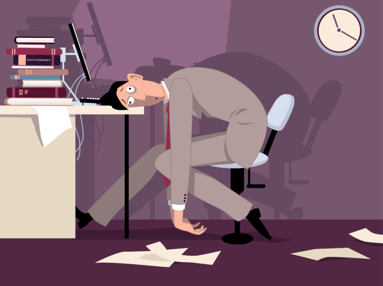 Death by exhaustion: A look at killer job environments